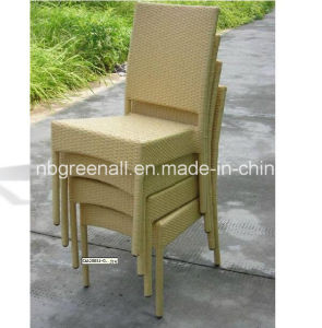 Stackable Restaurant Plastic Chair for Garden Wicker Chair pictures & photos