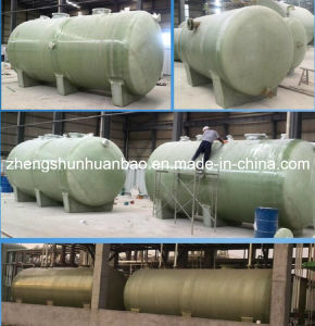 FRP/GRP Tanks for Chemical Processing