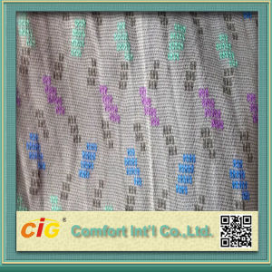 Jacquard Knitting Fabric Polyester  Fabric pictures & photos