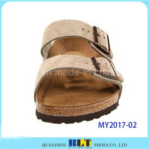 Ideal Comfort and Style Soft Cork Sandals pictures & photos