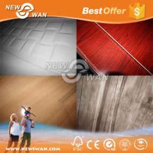 MDF HDF Melamine Moulded Door Skin / Solid Wood Melamine Door pictures & photos