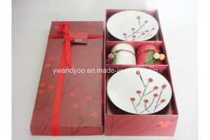 Christmas Red Berry Scented Candle Set pictures & photos