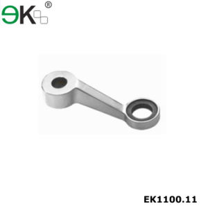 Stainless Steel Curtain Wall One Way Glass Spider Fittings