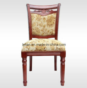 Solid Wood Hotel Banquet Chair with Frabric Uphystery pictures & photos