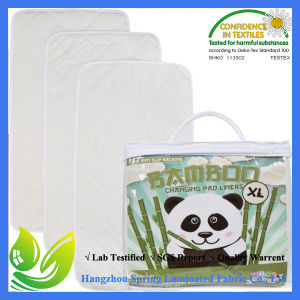 New Anti Slip Bamboo Changing Pad Liners 3packs pictures & photos