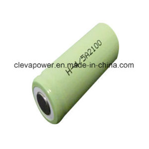NiMH Rechargeable Batteries with 4/5 Sub C 2100mAh