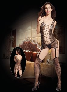 Sexy Lingerie Bodystocking with Crotchless Design 8942 pictures & photos