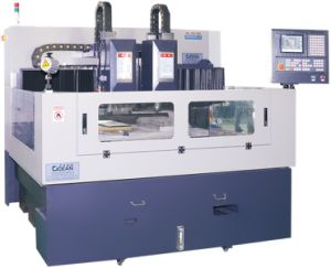 Double Spindle CNC Engraving Machine for Mobile Glass Processing (RCG1000D) pictures & photos