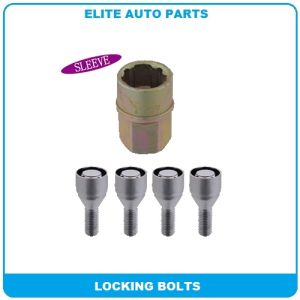 Wheel Lock Set for Car Security