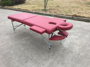 Light Weight Aluminium Massage Table Massage Bed Alu-010 pictures & photos