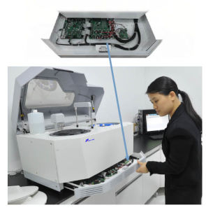 Clinic Laboratory Fully-Automatic Chemistry Biochemistry Analyzer with Touch Screen PC (WHYA8) pictures & photos