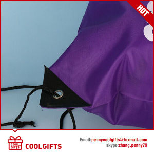 Waterproof 210d Polyester Fashion Drawstring Bag with Print for Gift pictures & photos