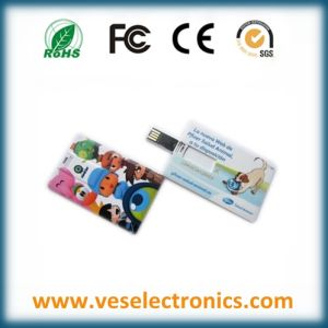 New Year Gift Credit Card USB Disk pictures & photos