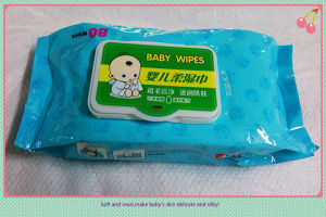2016 New Design 80PCS Packing Baby Wipes pictures & photos