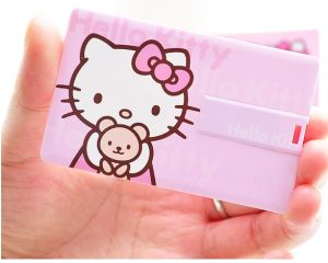 Promotional Custom Credit Card USB 2.0 Flash Drive Wedding Gift pictures & photos