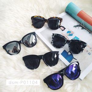 2016 Design Cat Eye Metal Polarized Sunglasses for Women