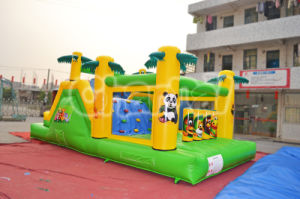 Popular Tropical Coconut Tree Inflatable Obstacle pictures & photos