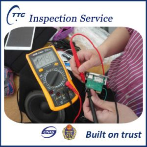 Electrical & electronic goods Inspection Service in China