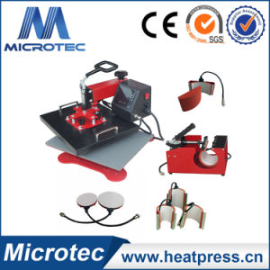 Multi-Functional Heat Press Machine - 8 in 1 Heat Press (ECH-800) pictures & photos