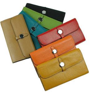 Fashion Clutch Women Purse Ladies Designer Leather Wallet (293) pictures & photos