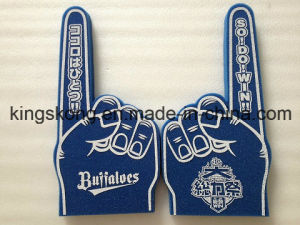 Blue Cheering Foam Hand for One Finger Game and Play pictures & photos
