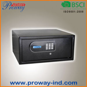 LCD Display Electronic Hotel Safe Box with Laptop Size pictures & photos