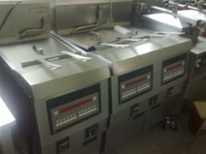 Single Tank Broasted Chicken Fryer Ofe-321 pictures & photos
