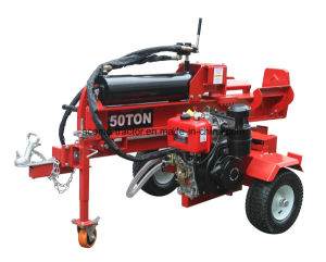 50t Diesel Engine Wood Splitter Ce EPA pictures & photos