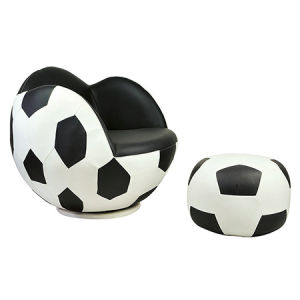 Fashion Leisure House Playroom Football Kids Sofa Chair (FS-T6096) pictures & photos