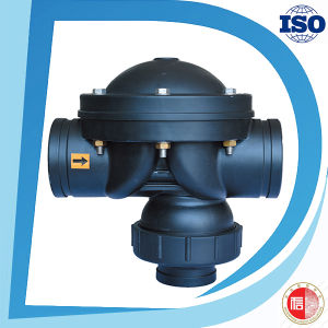 Water Filter Factory Price Nylon Black 3 Way Hydraulic Valve pictures & photos