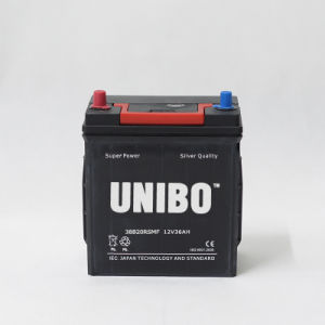 Auto Battery 38b20RS Mf JIS 12V36ah High Quality Car Battery pictures & photos