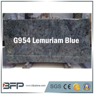 Natural Stone Blue Granite Kitchen Countertop and Floor Tiles Slab pictures & photos