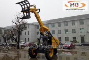 Strong Cane Wheel Loader (HQ4200) with Three Wheel Driving pictures & photos