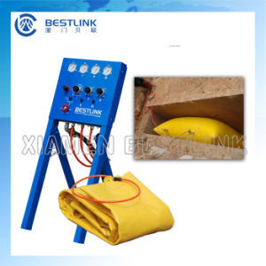 China Manufacturer Marble Block Pushing Tools Polymer Air Bag pictures & photos