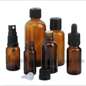 Chemical Bottles, Amber Glass Dropper Bottles in Stock pictures & photos