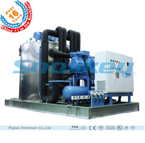 2016 Newest Design Large Type Slurry Ice Machine Liquid Ice Plant for Food Processing Industry pictures & photos