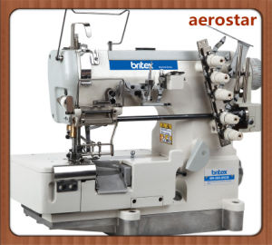 Br-500-05CB High Speed Flat-Bed Interlock for Loosening and Tightening Laces (with cut) pictures & photos