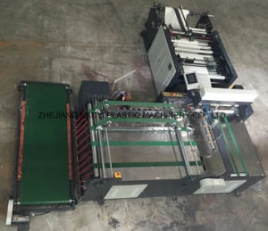 PE&Pet&PP Plastic Leno Mesh Bag Automatic Cutting and Sewing Machine pictures & photos