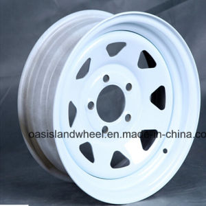 Triangle Spoke Steel Wheel for Trailer pictures & photos