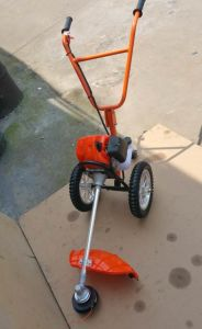 Double Hand-Pushed Brush Cutter Mower Trimmer pictures & photos