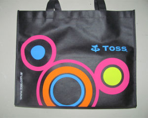 Promotional Custom Printed Advertising PP Non Woven Tote Bag (LJ-349)