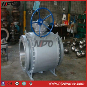 Forged Steel Stainless Steel Flanged Trunnion Ball Valve pictures & photos