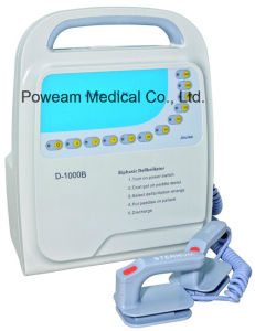 Hospital Portable Aed Automated External Biphasic Defibrillator (D-1000B) pictures & photos