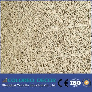 China Wood Wool High Quality Acoustic Panels in Shanghai pictures & photos