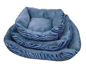 Solid Color Squair Dog Bed with Comfort Filling pictures & photos