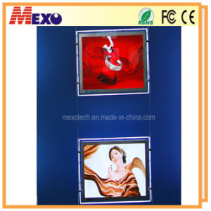 Double Side Magnetic Open LED Backlit Slim Lightbox pictures & photos