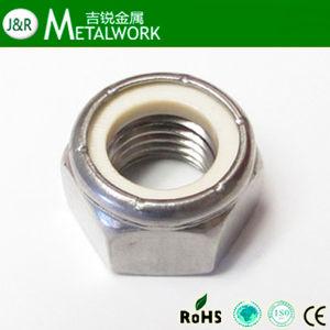 Stainless Steel 304 / 316 Hex / Hexagon Nylon Lock Nut (DIN985) pictures & photos