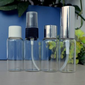 Threaded Clear Glass Bottle for Perfume