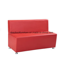 Red PU Leather Buffet Retaurant Booth Sofa From China pictures & photos