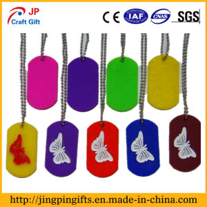 Custom Metal Dog Tag, Colorful Plated Stainless Steel Dog Tag pictures & photos